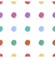 Hand drawn dots seamless pattern image vector image