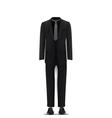 men suit vector image