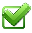 check box vector image vector image