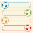 football button graphic vector image