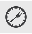 Eatery symbol vector image