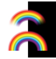 rainbow isolated vector image