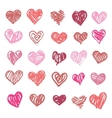Love Heart isolated vector image