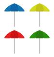 Beach umbrella vector image