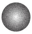 halftone gradient circle banner vector image
