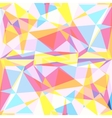 Polygon colorful background vector image