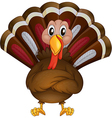 A problematic turkey vector image