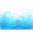 stylized wave vector image
