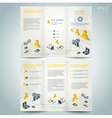 photography brochure design template photo camera vector image