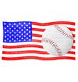 baseball season vector image