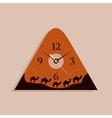 camel clock vector image