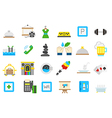 Entertainment isolated icons set vector image vector image