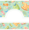 baby background vector image