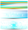 Business banners vector image vector image
