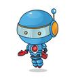 robot mascot vector image