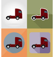 transport flat icons 14 vector image