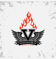 victory label vector image vector image