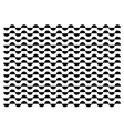 Half circle black pattern vector image vector image