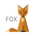 Simple Fox Logo vector image