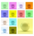 Sphere 3d template Abstract vector image