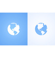 Icon of World Globe vector image