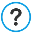 Question Flat Icon vector image