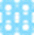 seamless pattern with square halftone vector image