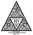 New york fashion graphic design minimal art concep vector image vector image