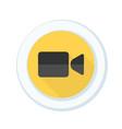 camera button vector image