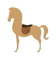 horse animal equine icon vector image