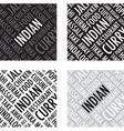 indian background vector image