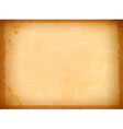 Aged paper frame vector image