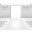 empty fashion runway vector image