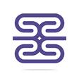 Logo Business Letter H Icon Design Element vector image