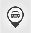 Taxi pointer vector image