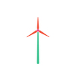Wind power Icon vector image