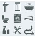 sanitary engineering vector image