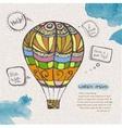 decorative sketch of balloon vector image vector image
