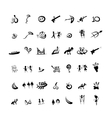 Entertainment icons sketch for your design vector image