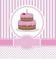 happy birthday copy vector image