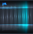 industrial or technology abstract background vector image