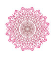 round mandalas in abstract design element vector image