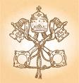 Vatican Symbol vector image