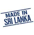 made in sri lanka stamp vector image