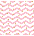 Chevron zigzag pink and white seamless pattern vector image