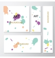 Abstract backgrounds and banners vector image
