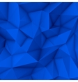 Blue Abstract Polygonal Background vector image