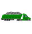semi truck trailer concept 10 vector image