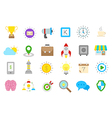 Web isolated icons set vector image vector image