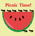 Picnic Time vector image